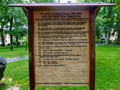 018 - Ein alter Eichenstamm berichtet aus der Bad Orber Geschichte