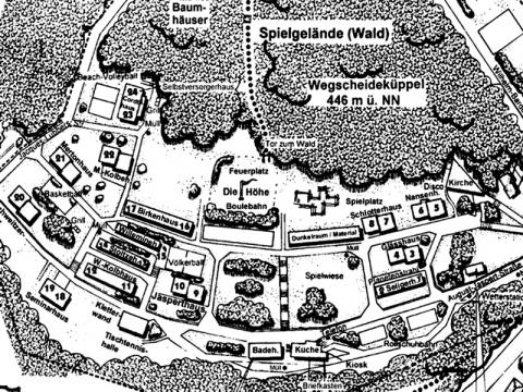 082 - Lageplan zur WEGSCHEIDE