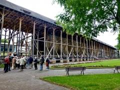 010 - Bad Orber Saline, Hessens größtes erhaltenes Gradierwerk.