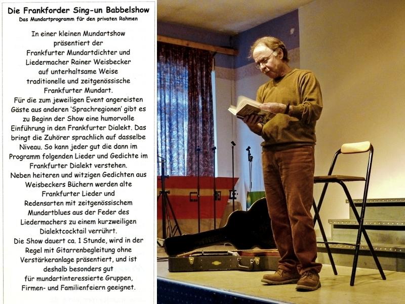 Die Frankfurter Sing-un Babbelshow