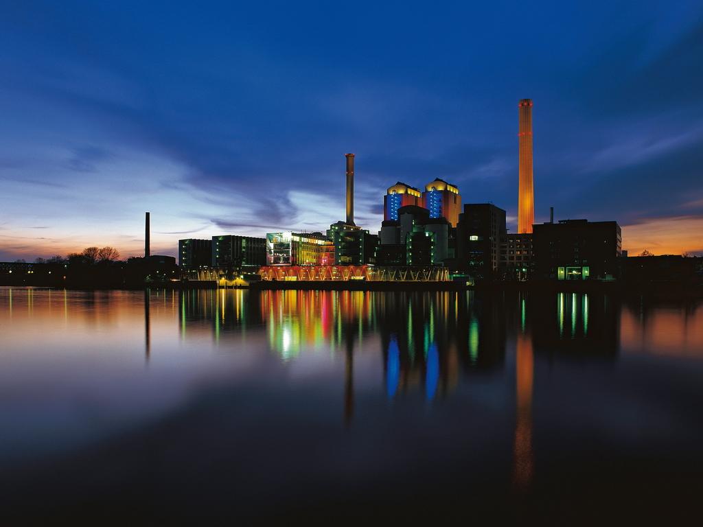 Die Fotos wurden für den Geschäftsbericht, Unternhemensreport 2006 gemacht